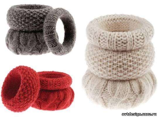 Для этого подойдет одноцветный хлопок. вязаные браслеты (можно и спицами...